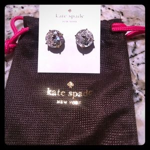 KATE SPADE EARRINGS - New with pouch !